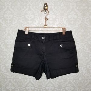 White House Black Market Black Shorts